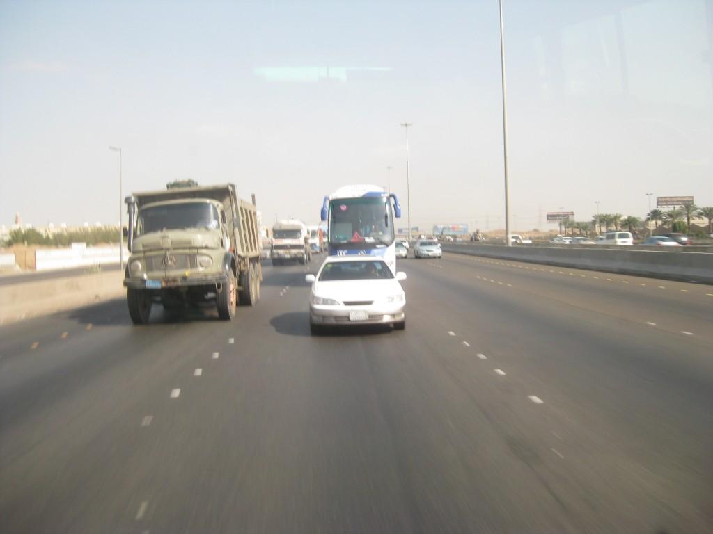 Schwacher Verkehr in Jeddah