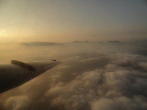 Über den Wolken in Nepal