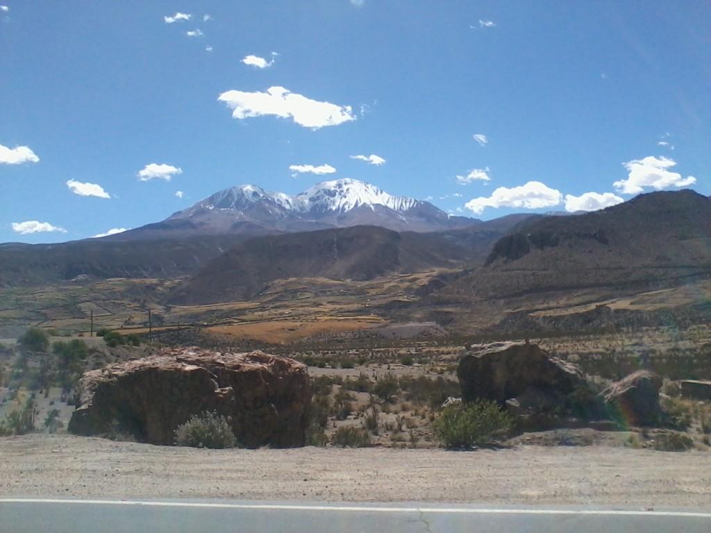 Fahrt von Arica nach La Paz