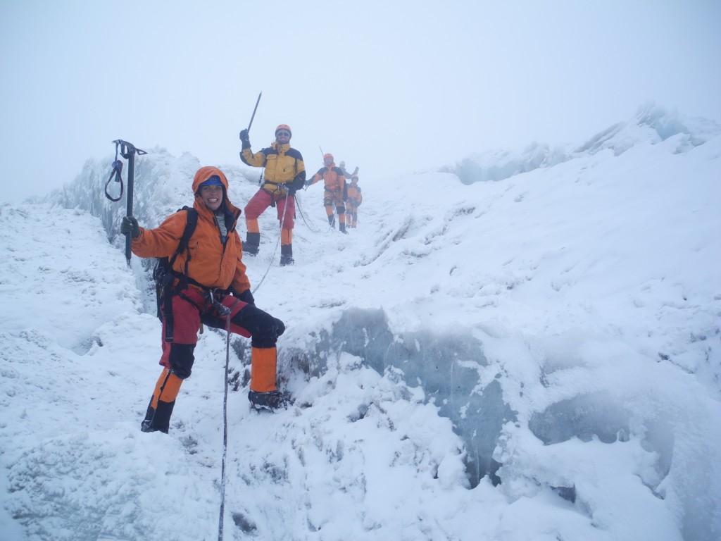 Gletscherübungen