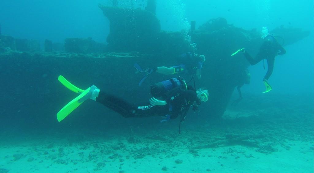 Wracktauchen vor Mauritius