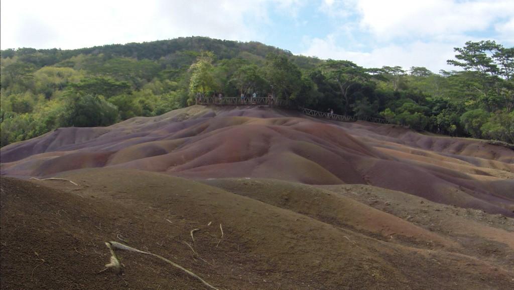 7 farbige Erden bei Chamarel