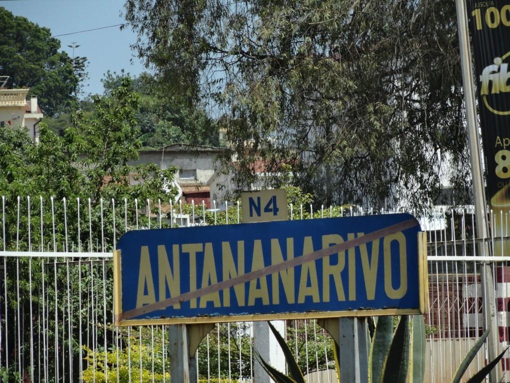 Stadtgrenze von Antananarivo