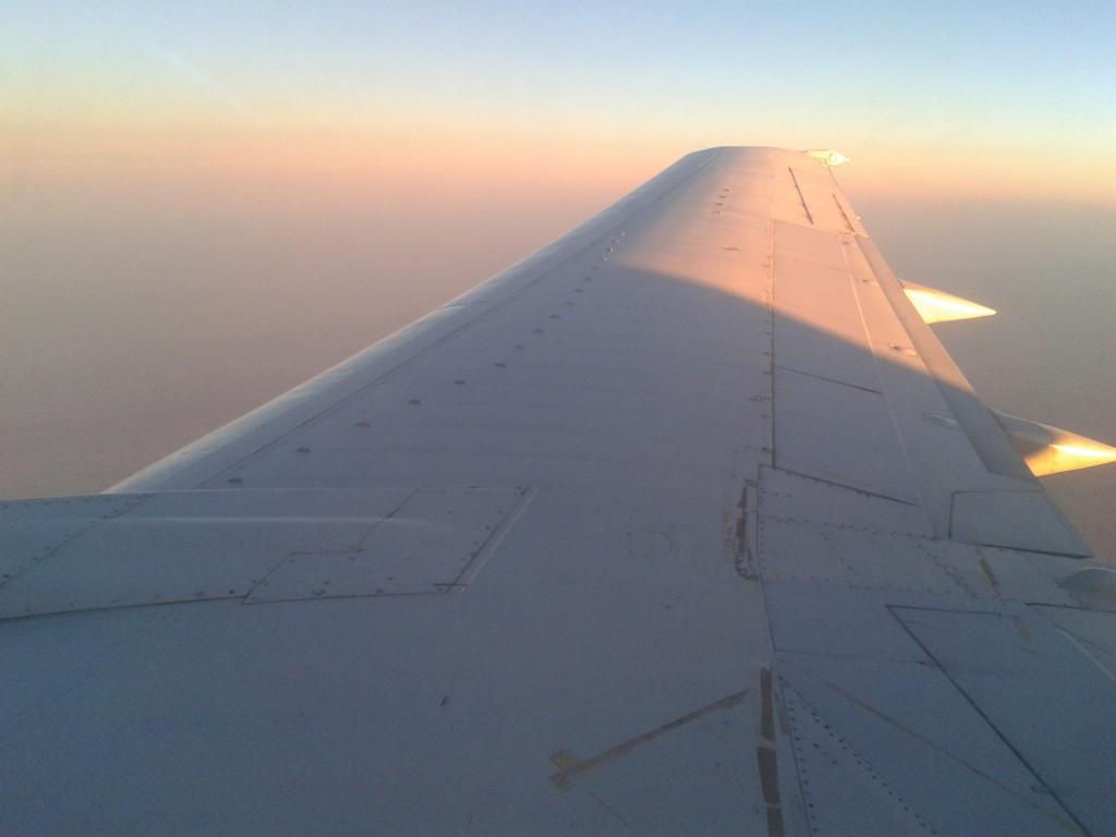 Flug zurück nach Tana