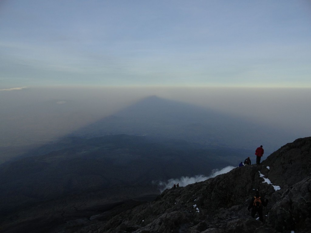 Follow the Shadow of Mount Meru