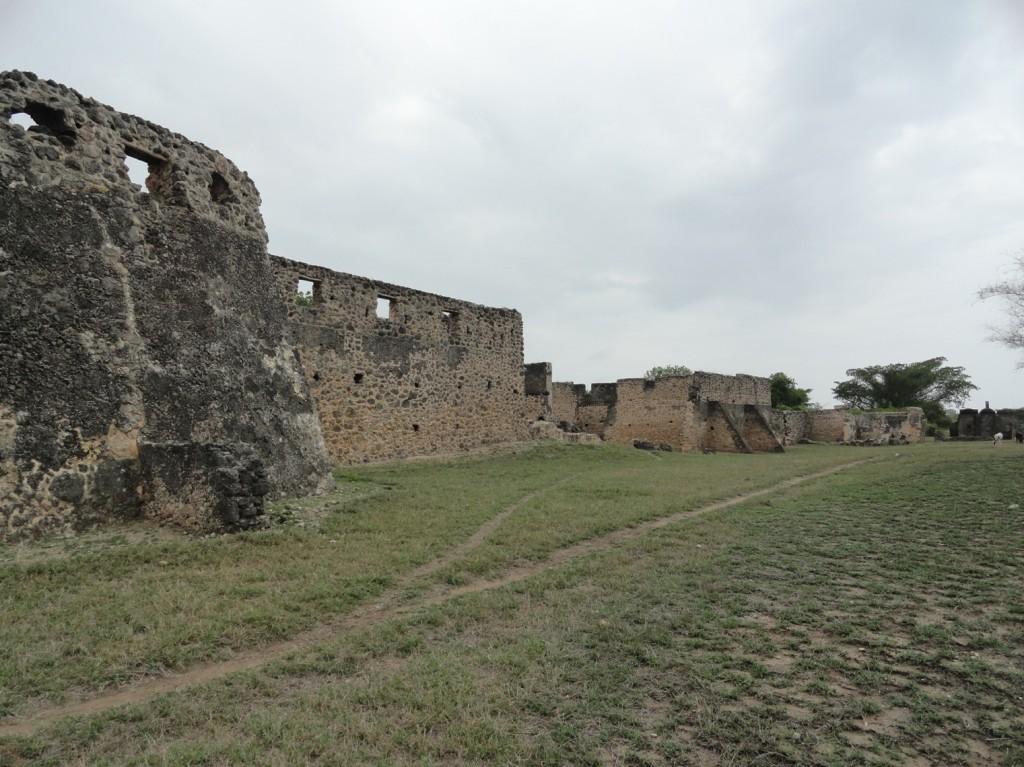 Makutani Palast auf Kilwa Kisiwani