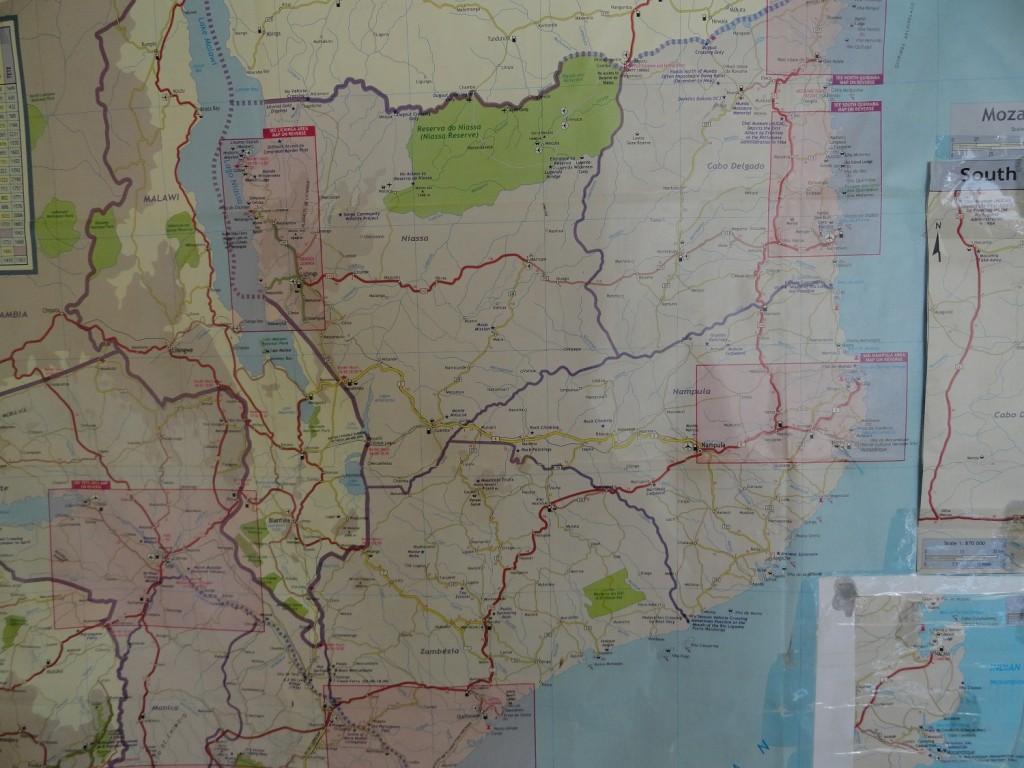 Karte: Suche nach dem Weg