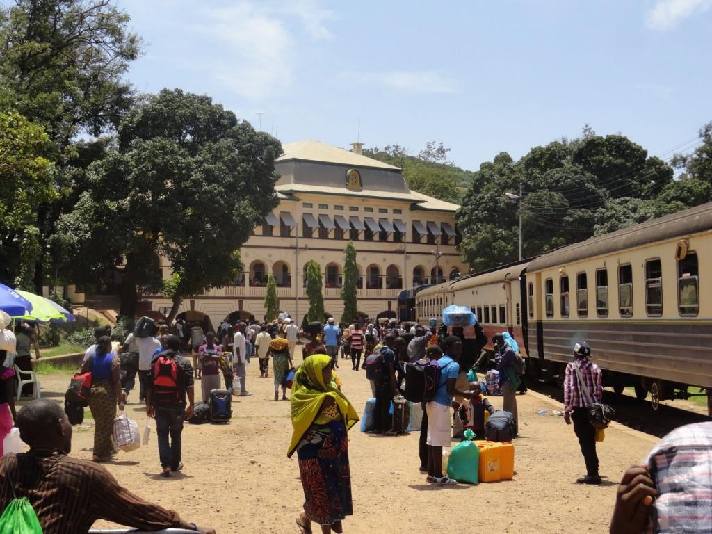 Bahnhof von Kigoma - Ende der Central Line