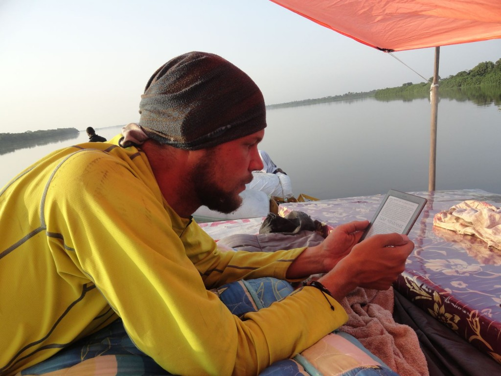 Dominik reading
