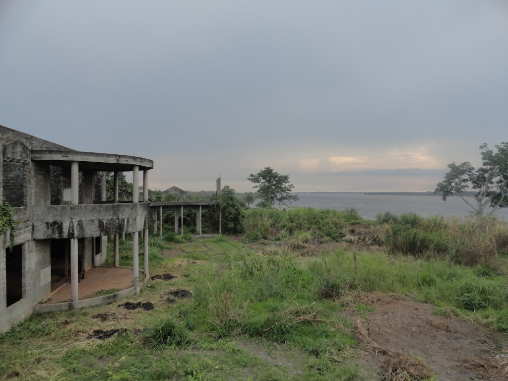 Palastruine von Mobutu in Mbandaka