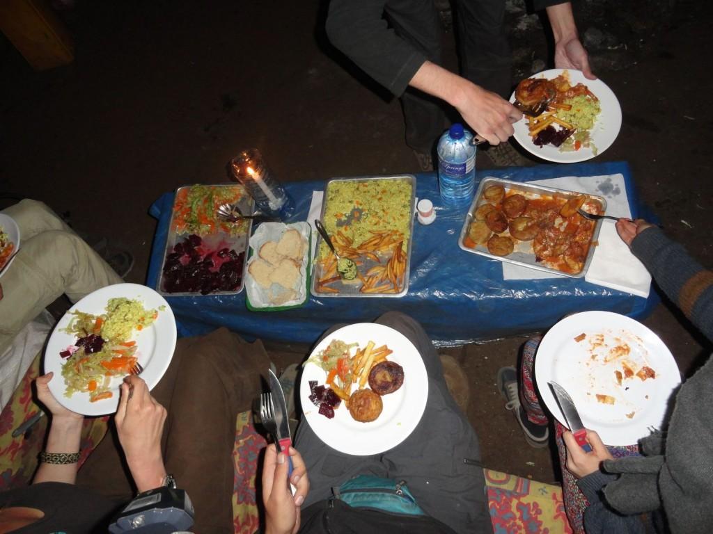 Großes Abendessen
