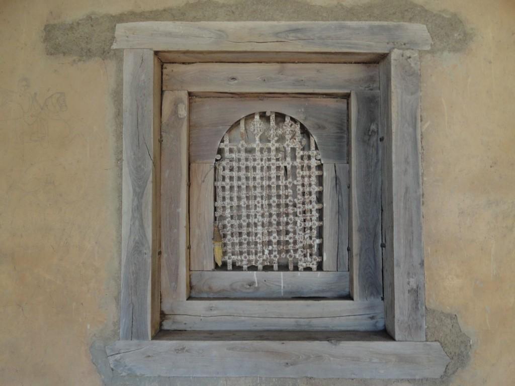 Fenster im Kloster Kibran St. Gabriel