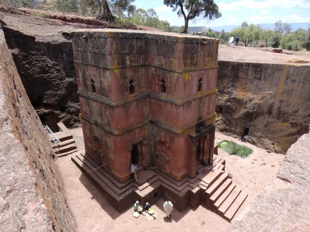 Bet Giyorgis - berühmteste Kirche in Äthiopien