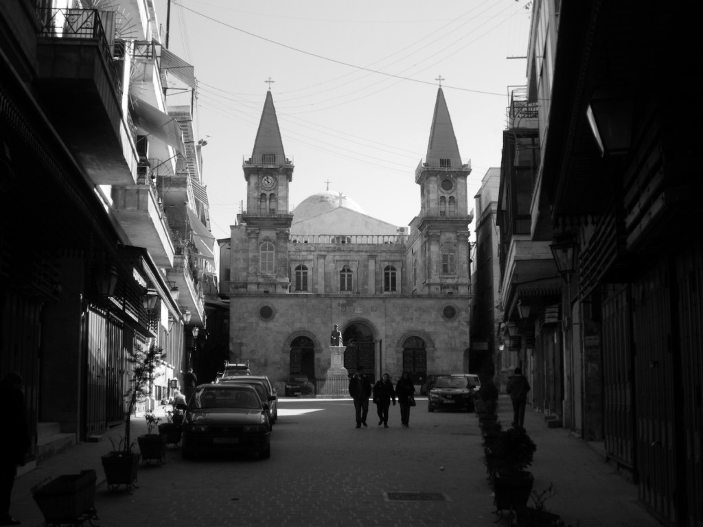 Saint Elias Kathedrale im Jdeydeh Viertel
