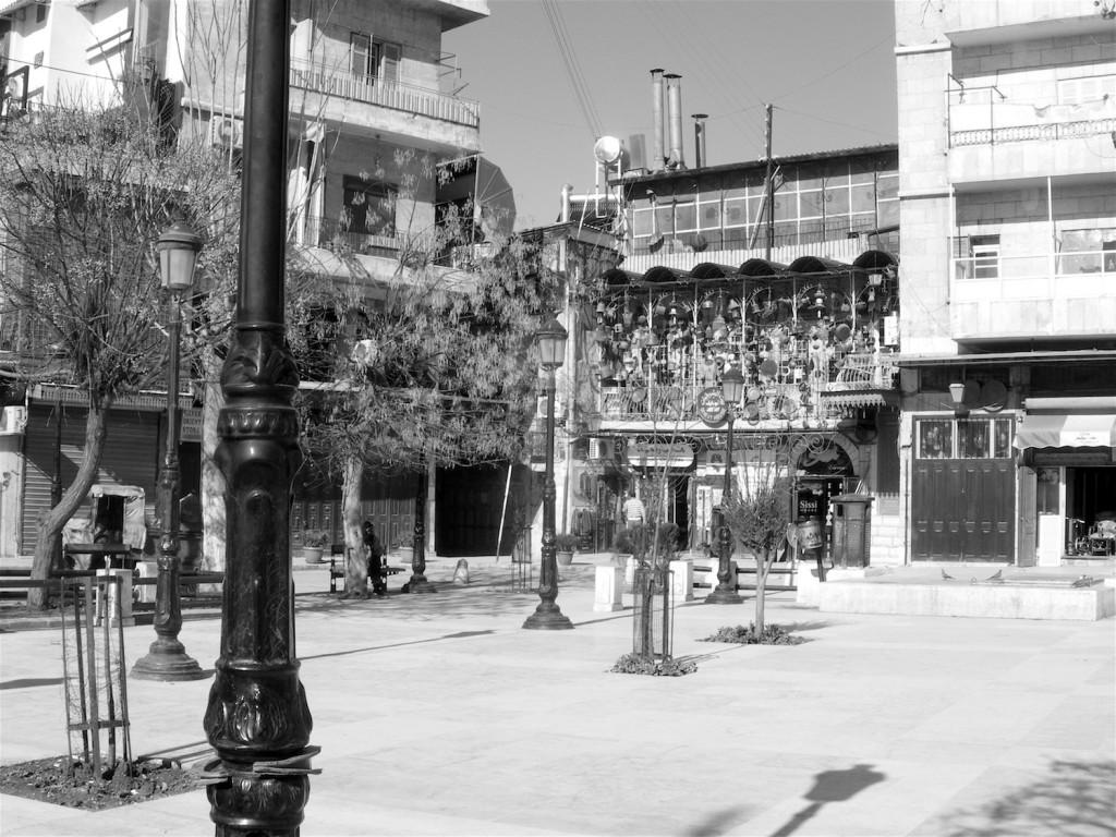 Al-Hatab Platz im Jdeydeh Viertel
