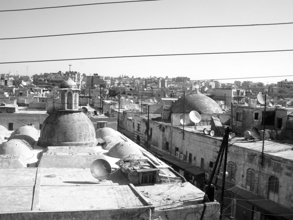 Blick über die Altstadt von Aleppo