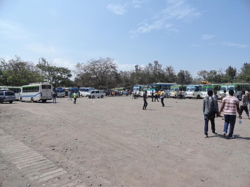 Bushaltestelle von Awassa