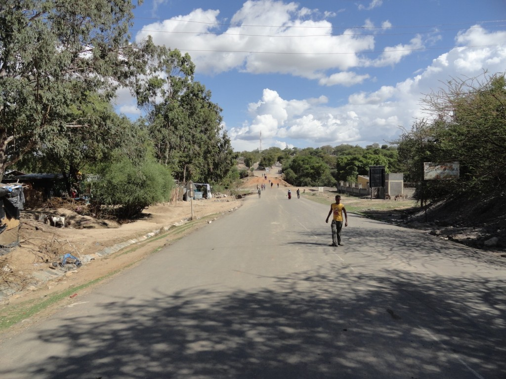 Grenzübergang in Moyale