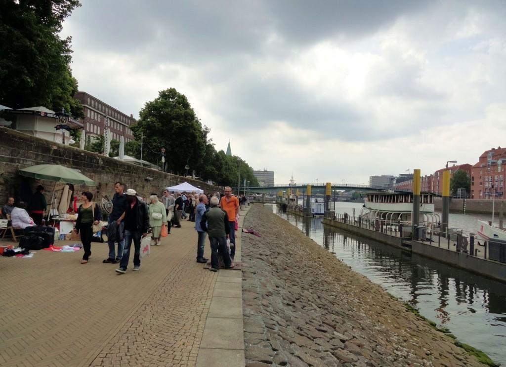 Schlachte - Promenade an der Weser