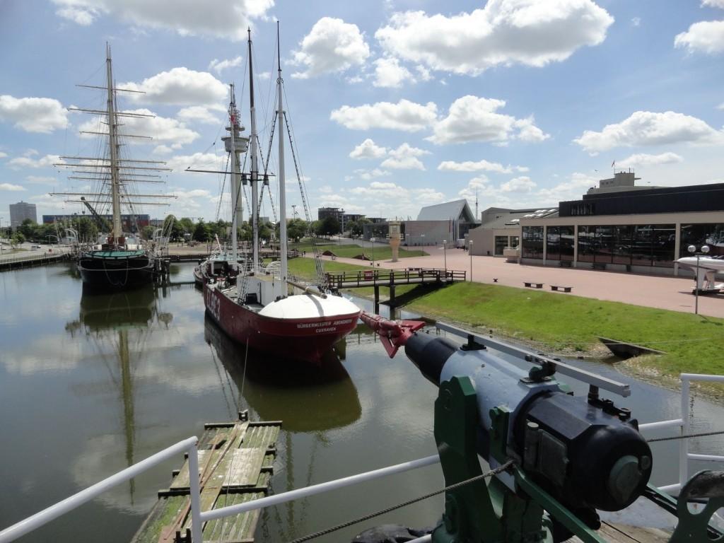 Walfangschiff im Deutschen Schiffahrtsmuseum