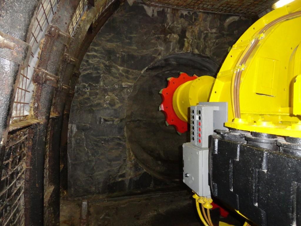 Schwere Maschine im Deutschen Bergbau-Museum