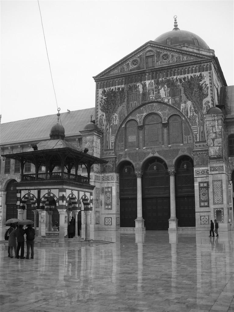 Innenhof der Umayyaden-Moschee