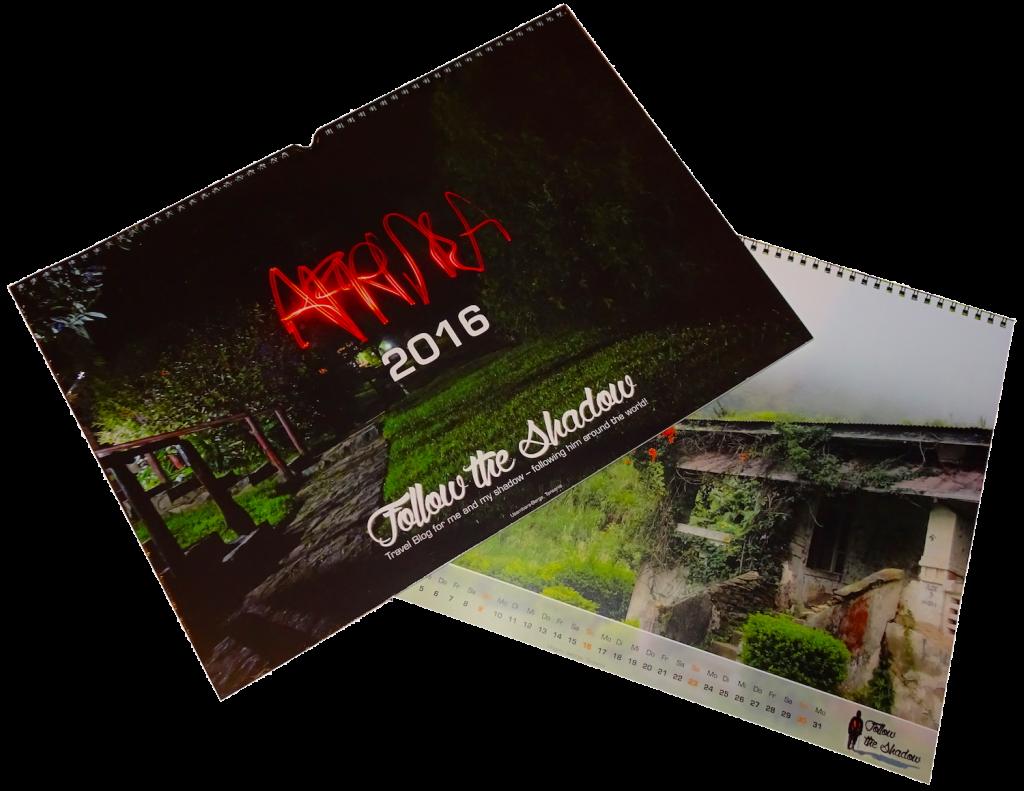 Kalender 2016 Showcase