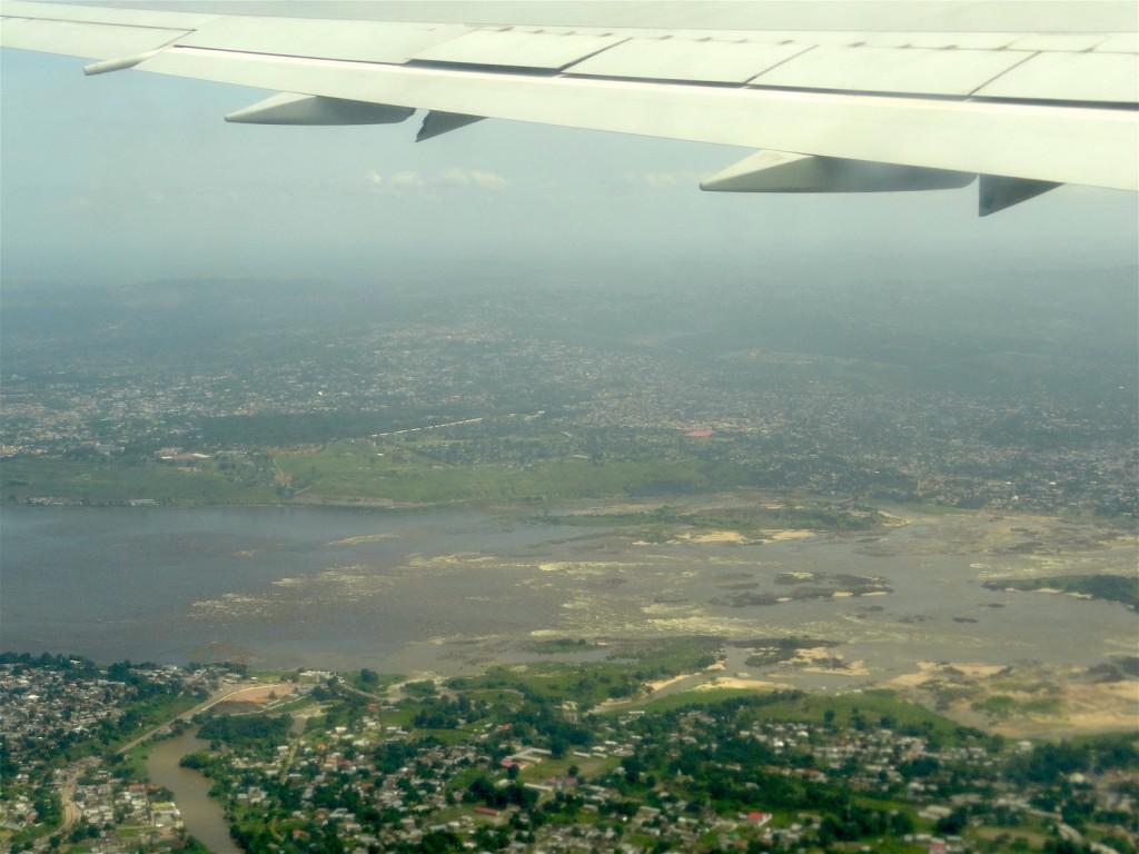 Leaving Kinshasa - Last view of the Congo River