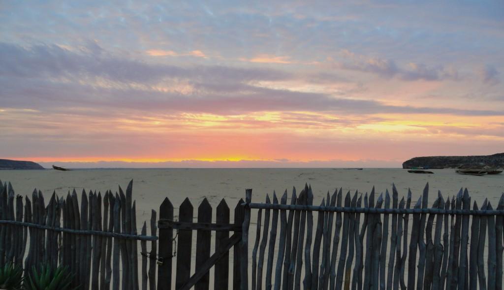 Im Traum - Strand mit Sonnenuntergang