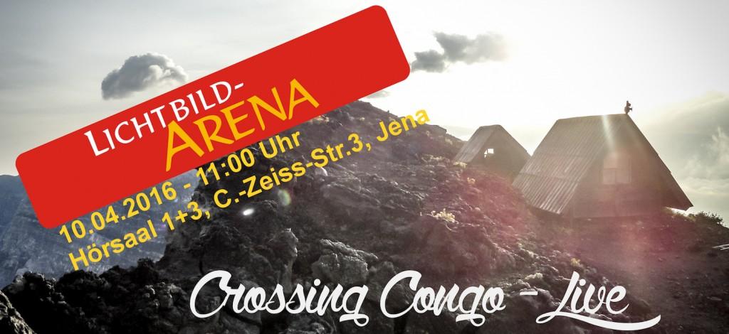 Vortrag auf der Lichtbildarena - Crossing Congo