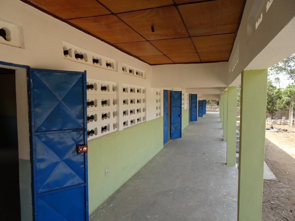 Fertige Klassenzimmer