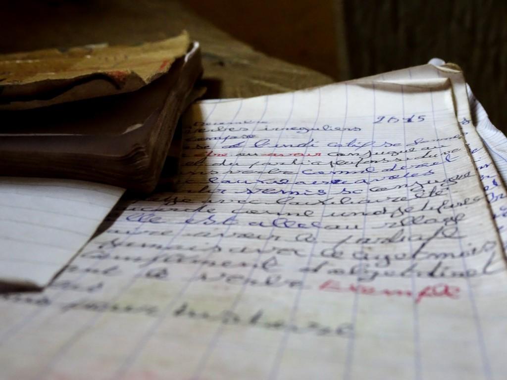 Schulheft in Hamdakonkoure