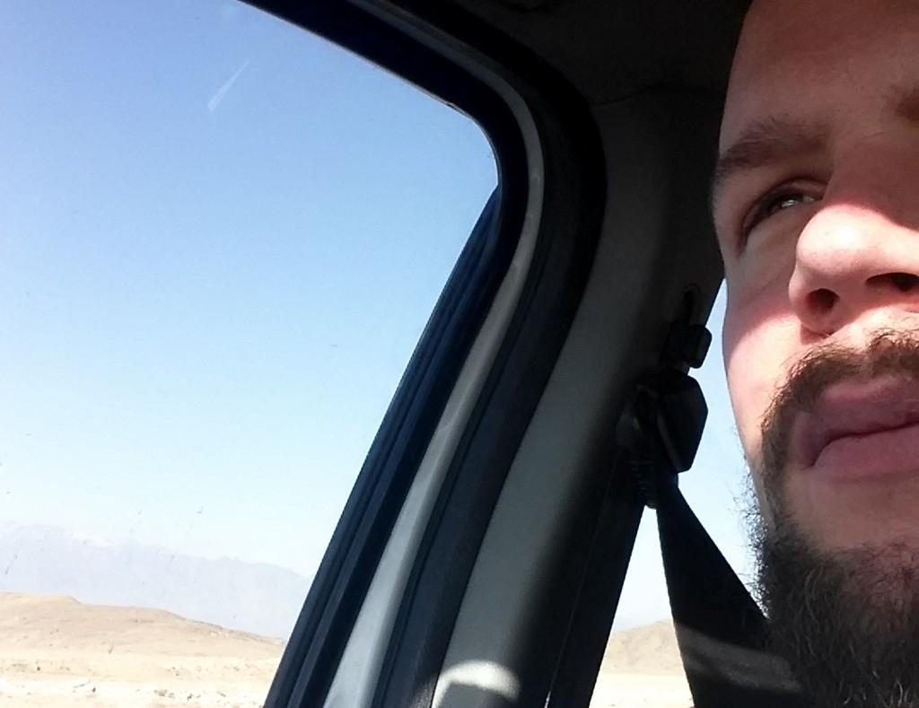 Auf dem Weg nach Abyaneh