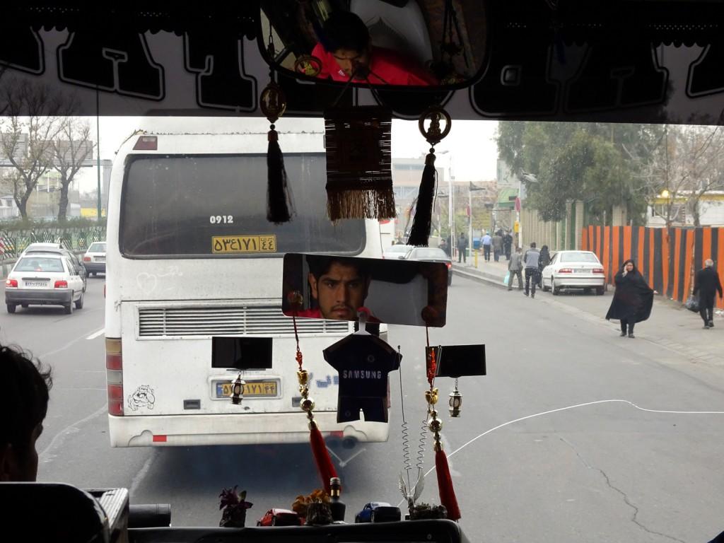 Fernbus in Teheran