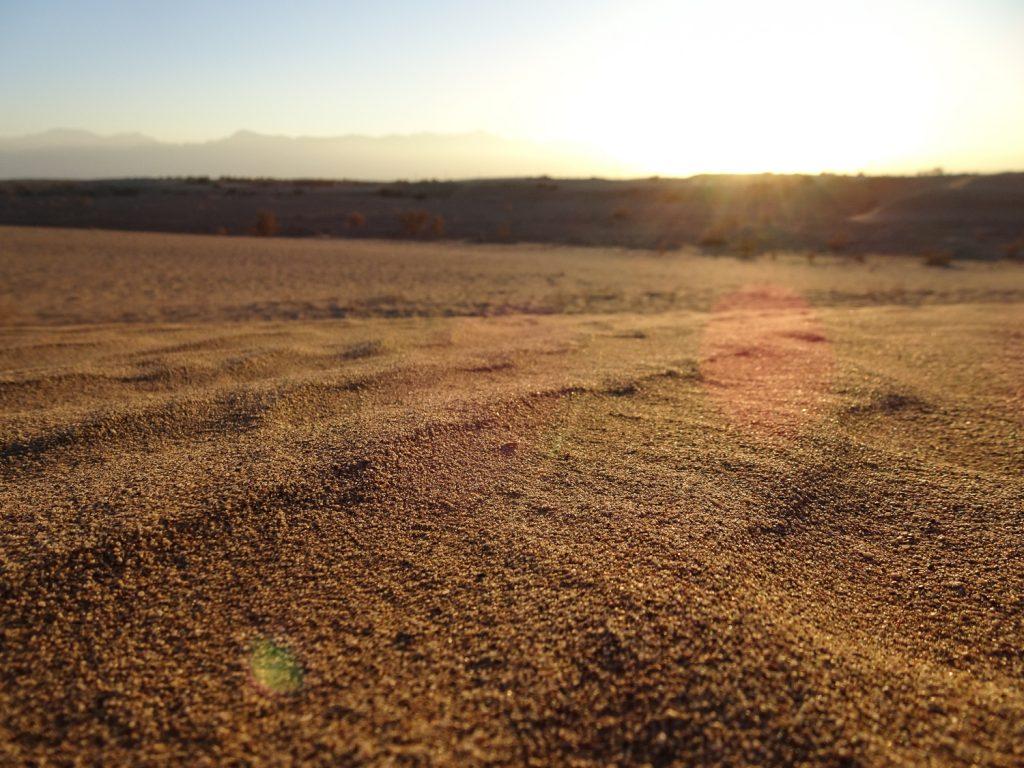 Wüste um Yazd