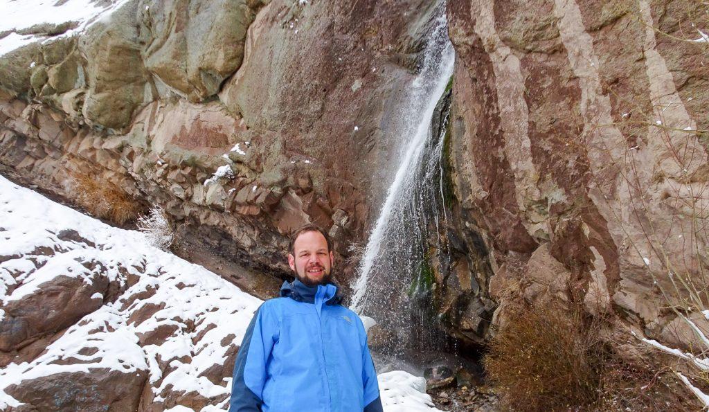 Wasserfall bei Rayen