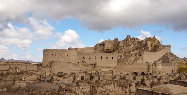 Panorama der Festung Bam