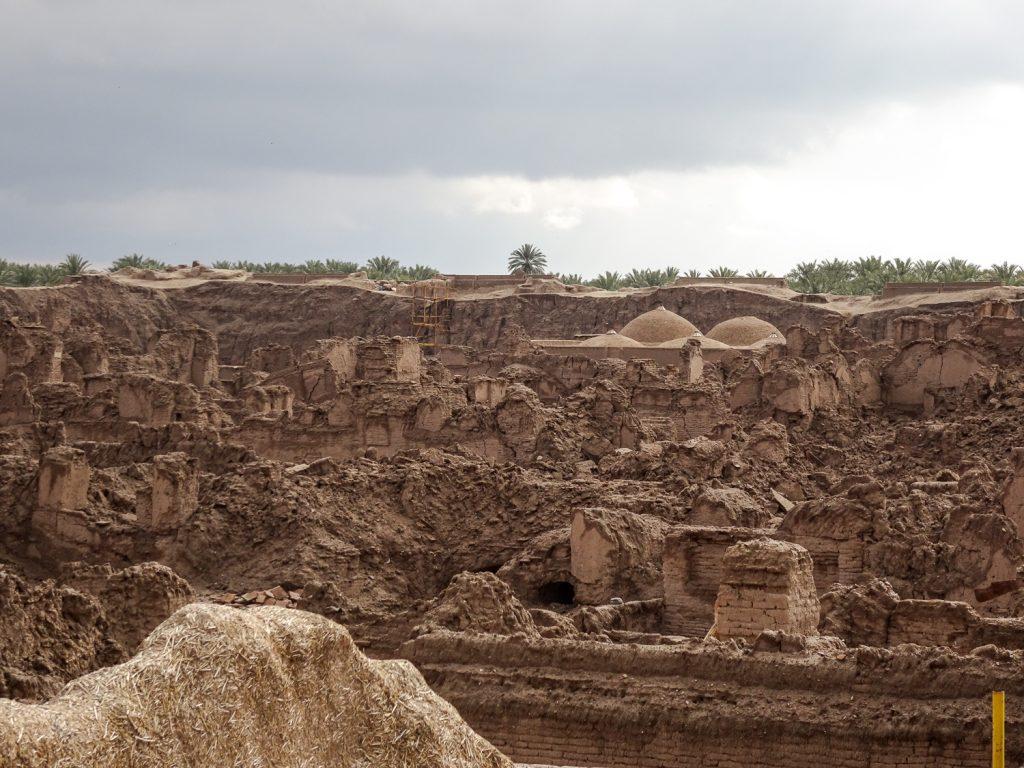 Vollkommen zerstörter Teil vom Arg-e Bam