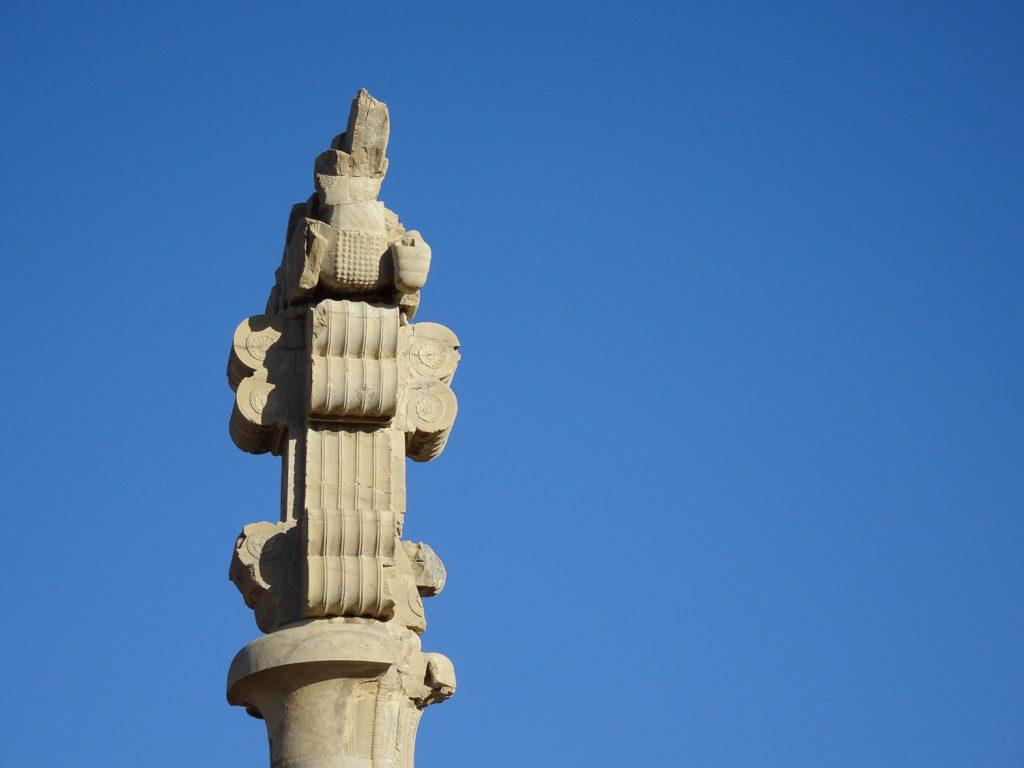 Säule in Persepolis