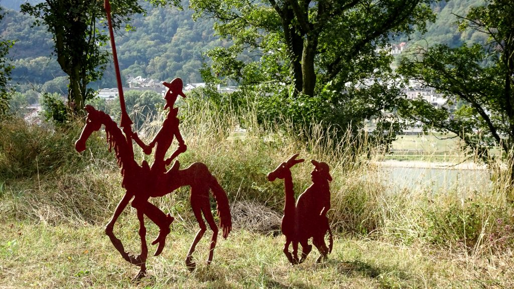 Don Quijote auf Abenteuer-Reise