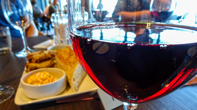Wein und Steak