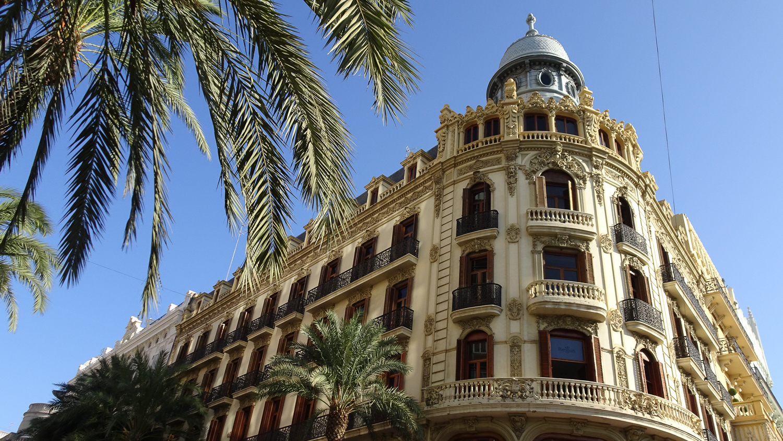 Innenstadt von Valencia