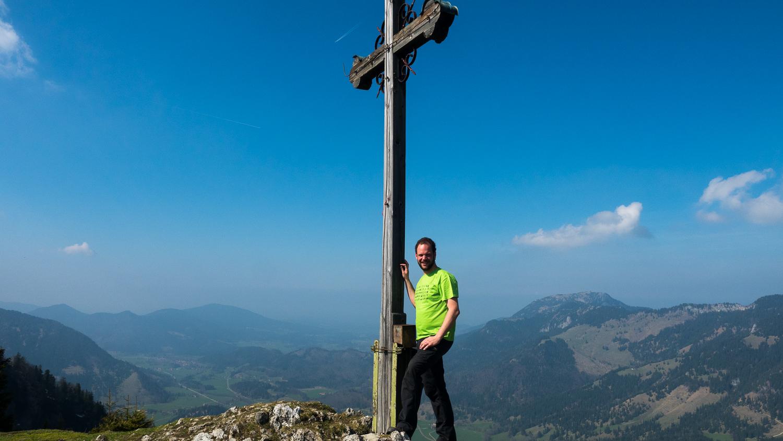 Gipfelkreuz des Seebergkopf