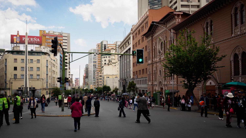 Proteste in La Paz