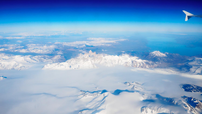 Fitz Roy und das patagonische Inlandseisfeld