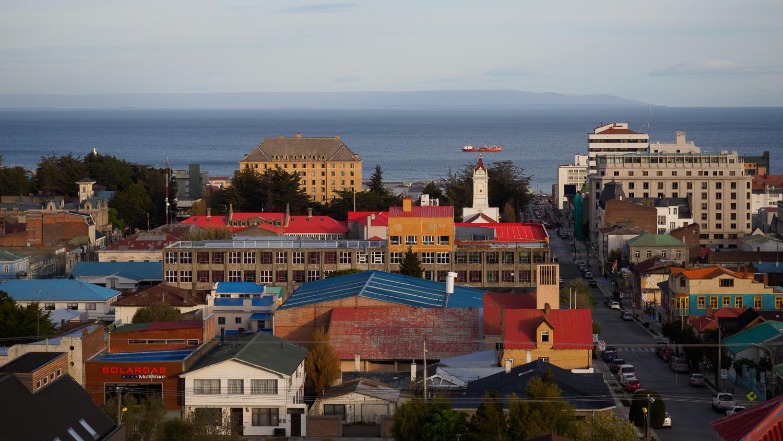 Stadtbild von Punta Arenas