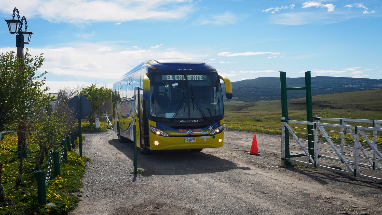 Busfahrt nach El Calafate