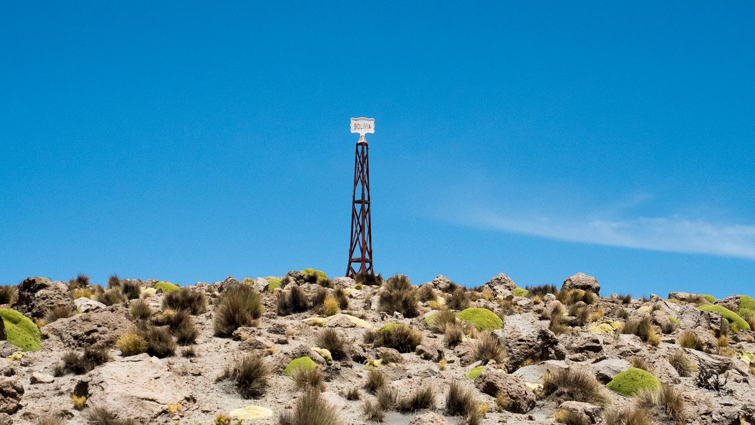Grenze zu Chile