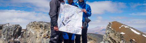 Gipfelfoto Parinacota