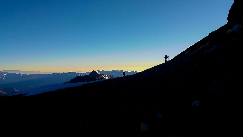 Bergsteiger am Aconcagua